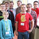 Die Brackeler Vertreter bei den Deutschen Jugendeinzelmeisterschaften 2013 in Oberhof.