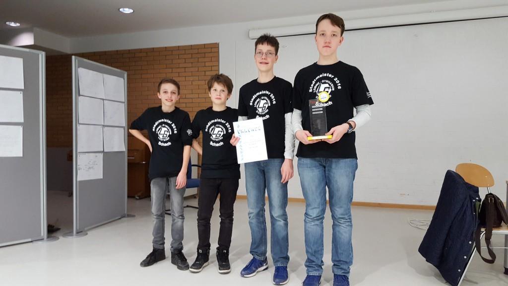 Stadtmeister WK IV 2017 Leibniz